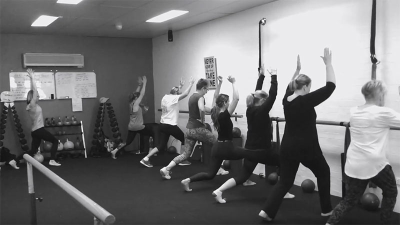 Barre Fitness Class Video, Simply Fitness, Southern Highlands
