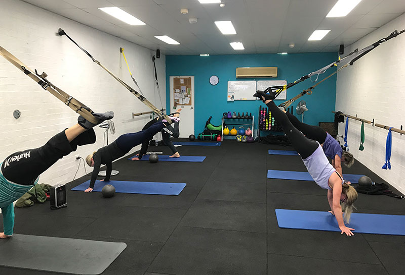 Simply Fitness, Southern Highlands, TRX Group Fitness