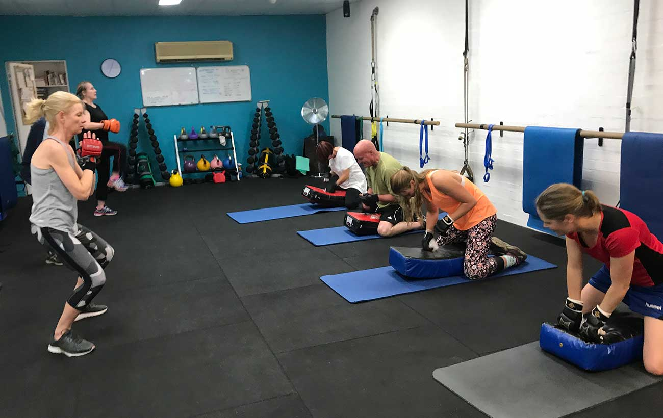 Simply Fitness, Southern Highlands, Boxing Class