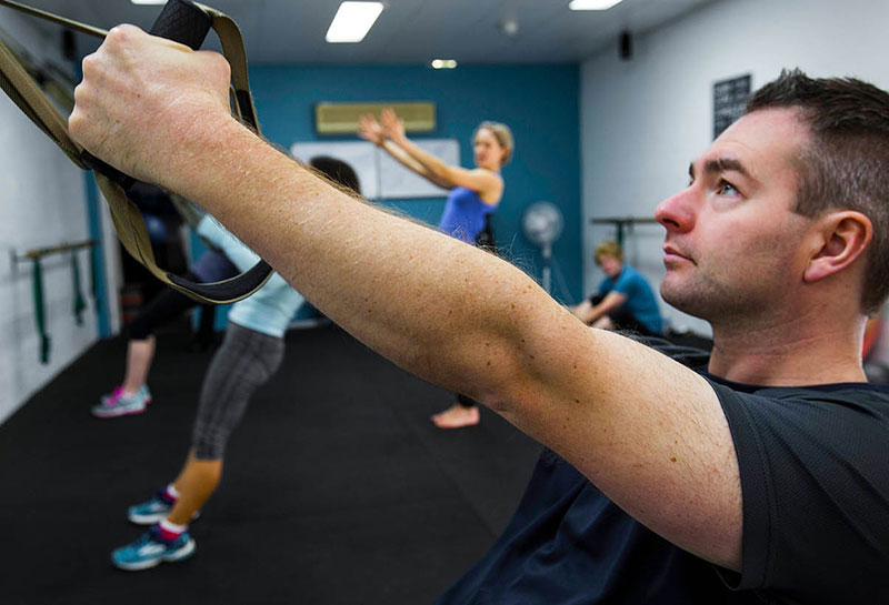Simply Fitness, Southern Highlands, TRX Fitness Class