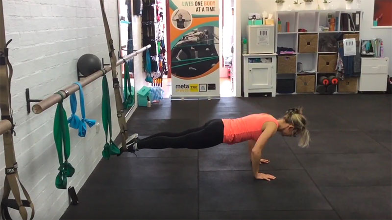 TRX Total Tone video, Simply Fitness, Southern Highlands
