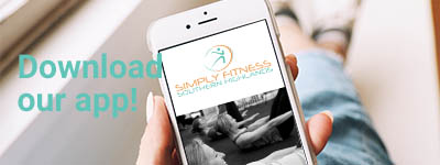 Download the App, Simply Fitness, Southern Highlands