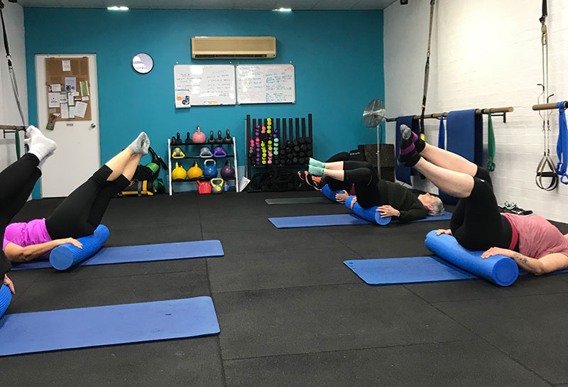 Simply Fitness, Southern Highlands, Foam Rolling Class